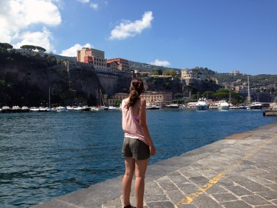 Taking in the sights in Sorrento!
