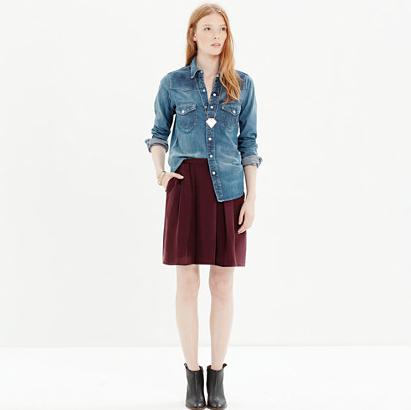 Madewell Premiere Skirt