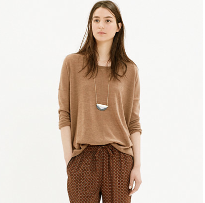 Madewell Rowhouse sweater